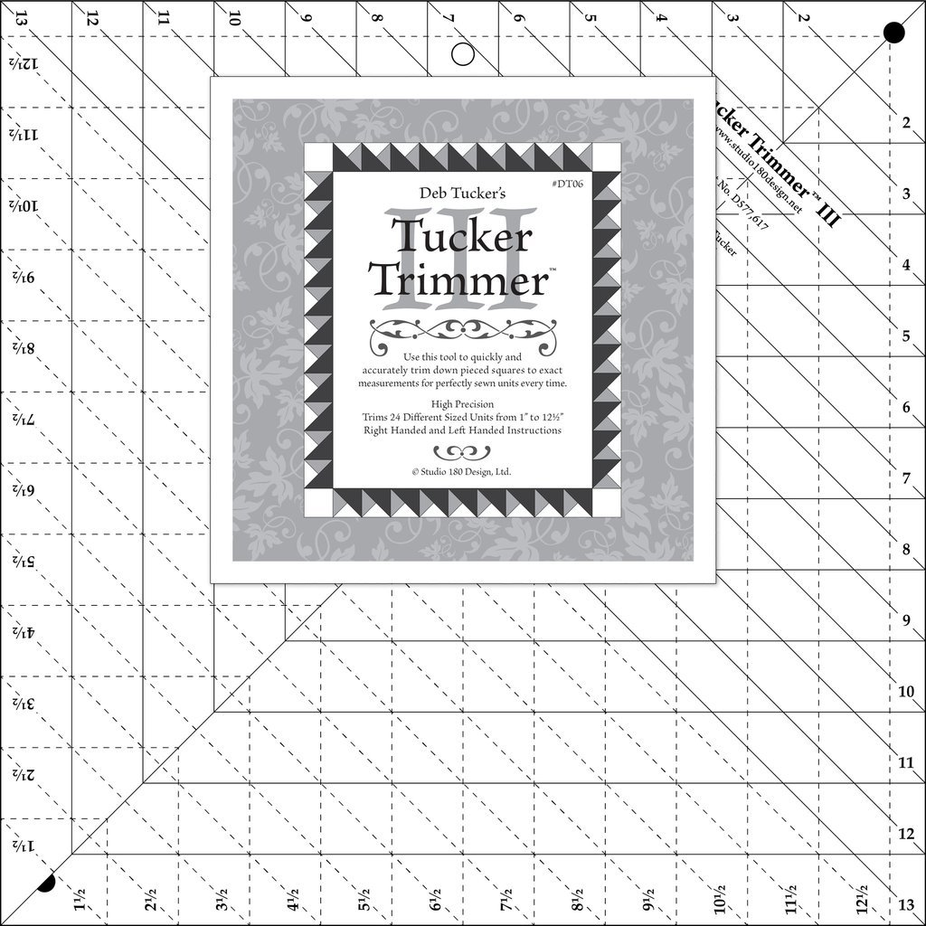 Studio 180 - Deb Tucker's Tucker Trimmer III Ruler