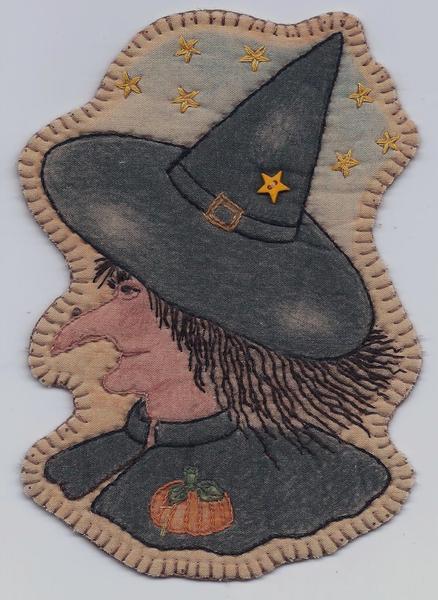 Vintage Autumn #2 - Witch