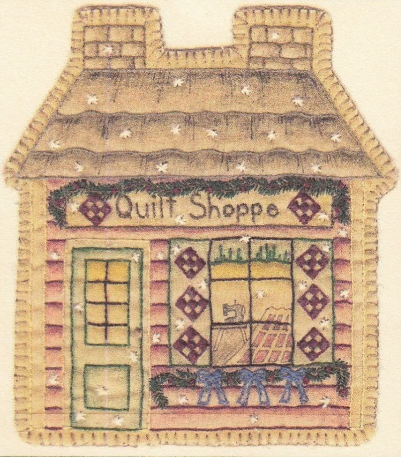 Vintage Christmas Ornament - CDHV18 - Quilt Shop