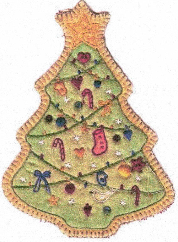 Vintage Christmas Ornament - CDHV05 - Tree