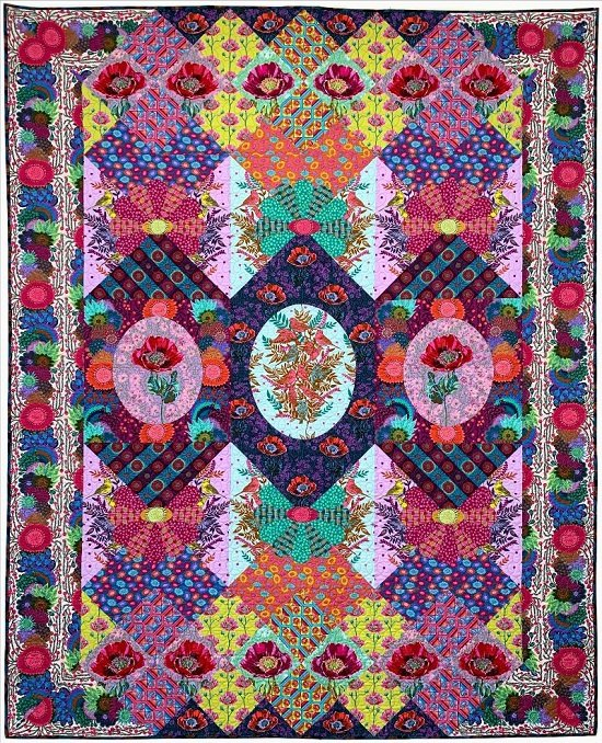 Anna Maria's Visions Quilt Club ~ Includes Backing!