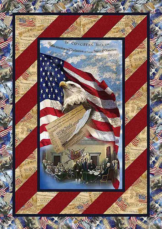 We The People - Angled Up Youth Quilt ~ Two Options!