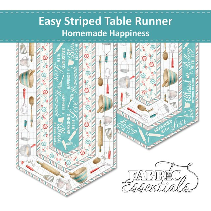 Homemade Happiness - Table Runners Kit - Makes 2! (See Note)