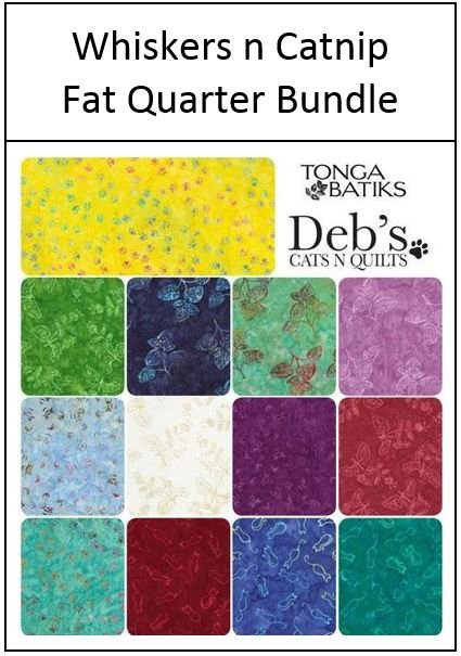 Timeless Treasures - Whiskers n Catnip - Fat Quarter Bundle of 13 Fabrics