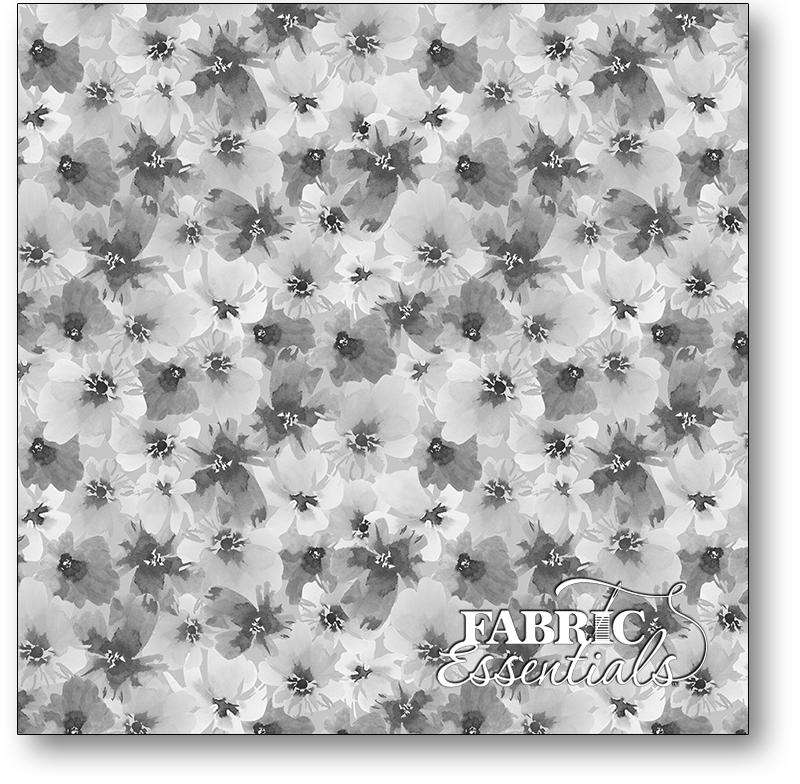 Wilmington - Awakenings - 3039-13403-919 - Packed Floral Gray