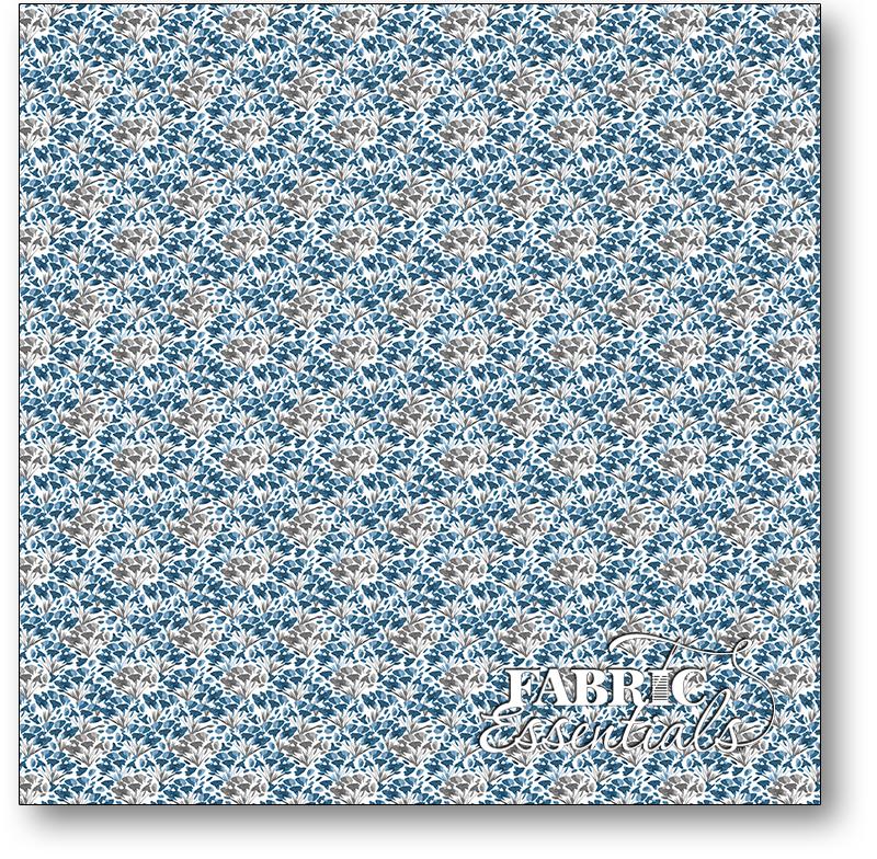 Wilmington - Awakenings - 3039-13407-149 - Small Floral Blue