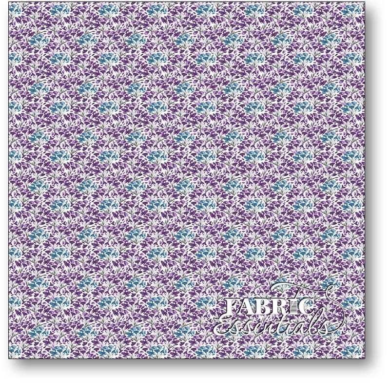 Wilmington - Awakenings - 3039-13407-164 - Small Floral Violet