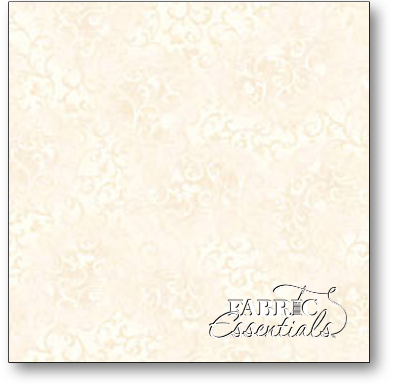 Wilmington - Essentials Scroll - 108in Wide Backing - Q1055-7210-101 Ivory