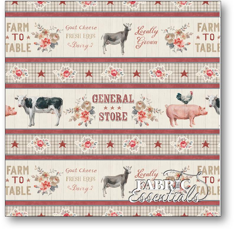 Wilmington - Farmhouse Chic - 1077-89237-223 - Border