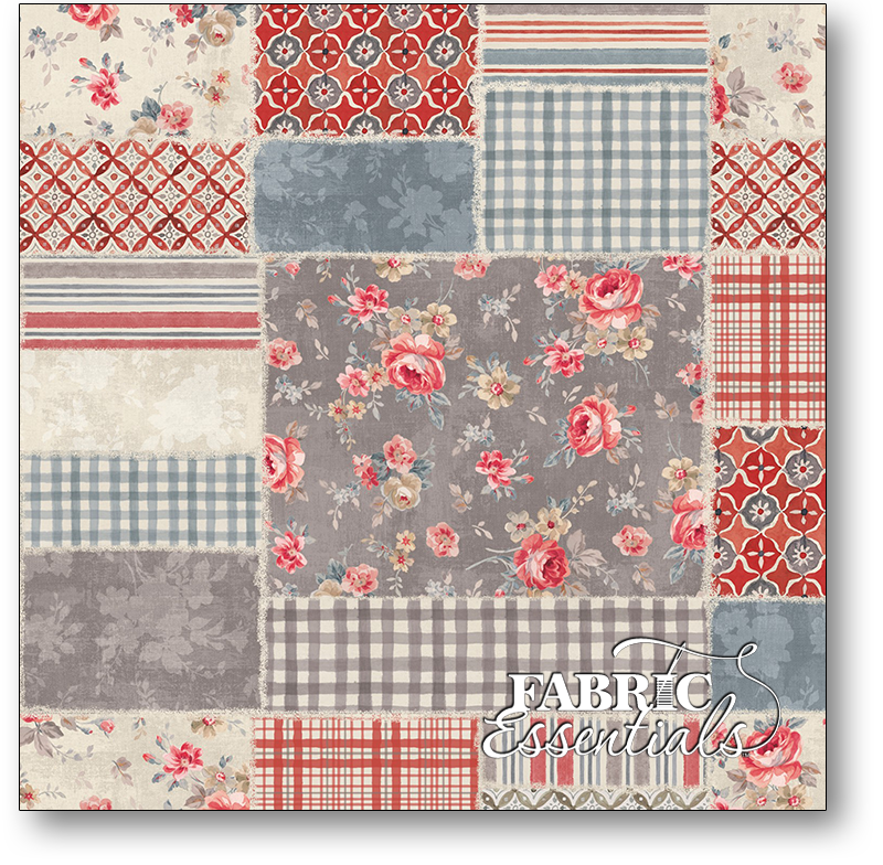 Wilmington - Farmhouse Chic - 108in Wide Backing - 1055-7216-293 - Patchwork