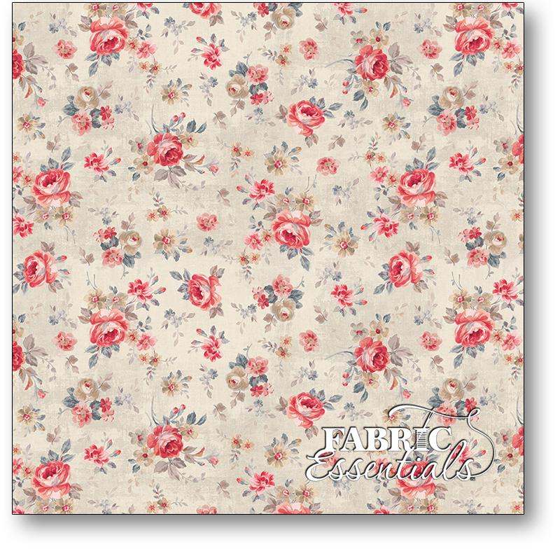 Wilmington - Farmhouse Chic - 1077-89241-232 - Cream Floral Toss