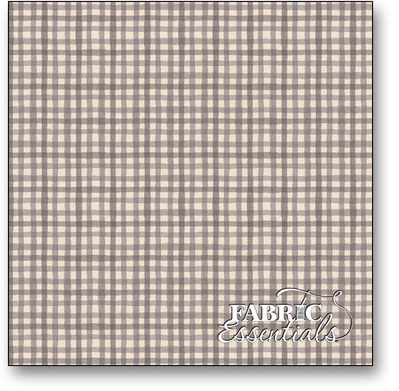 Wilmington - Farmhouse Chic - 1077-89243-921 - Taupe Gingham