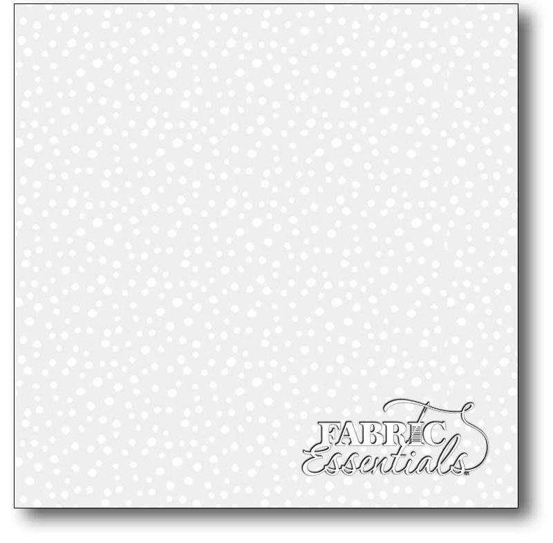 Wilmington - Essentials - Petite Dots - Q1817-39065-100 White on White