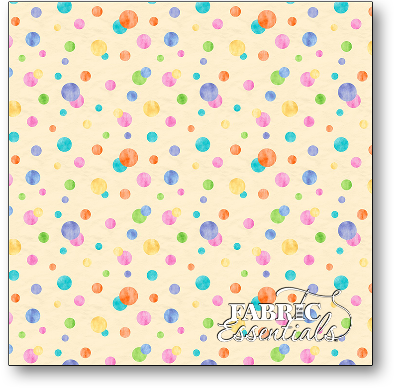 Wilmington - Raindrops & Sunshine - 3007-68553-565 - Yellow Circles