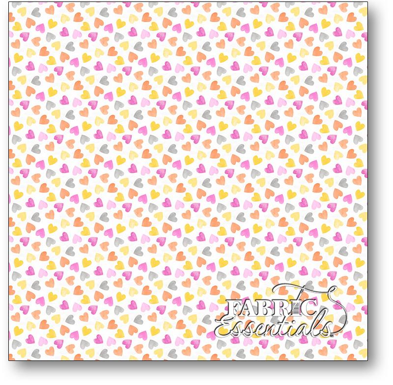 Wilmington - Raindrops & Sunshine - 3007-68554-195 - Pink Hearts