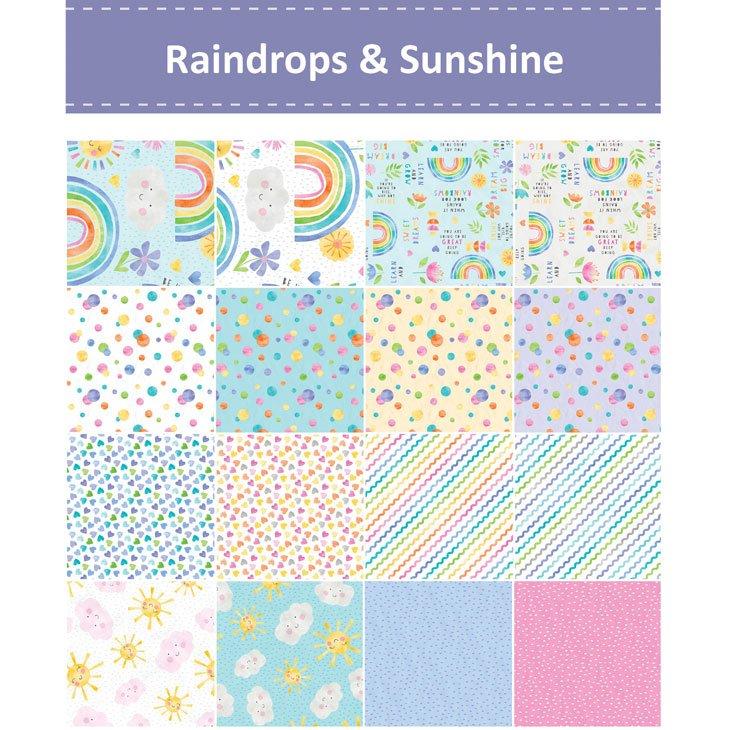 Wilmington - Raindrops & Sunshine - 20 Fat Quarters!