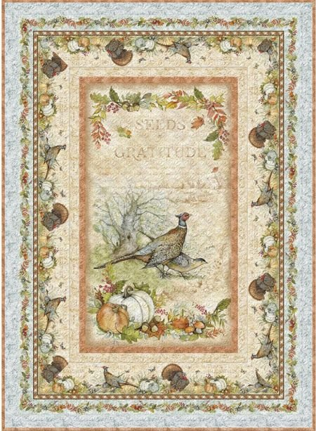 Wilmington - Seeds of Gratitude - Wall Quilt Kit