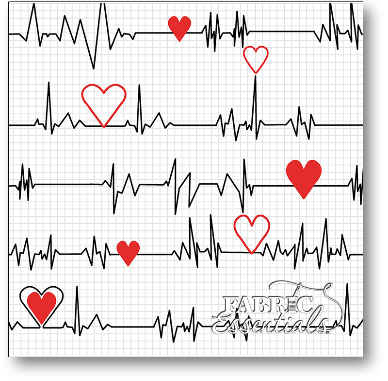 Windham - Calling All Nurses - 37302-2 White Heart Beat