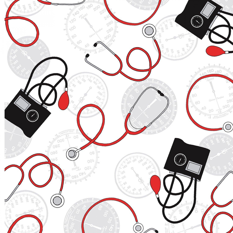 Windham - Calling All Nurses - 37304-2 White Blood Pressure