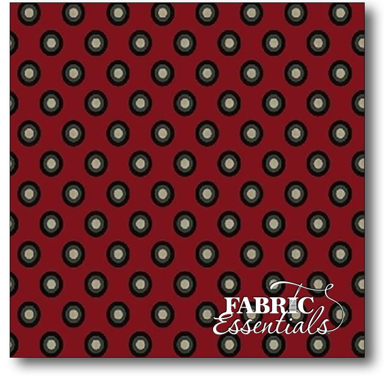 * Windham - Carmen - Dots - 41043-1 Red - BUY THE BOLT - FANTASTIC PRICE ON 15 YARDS!