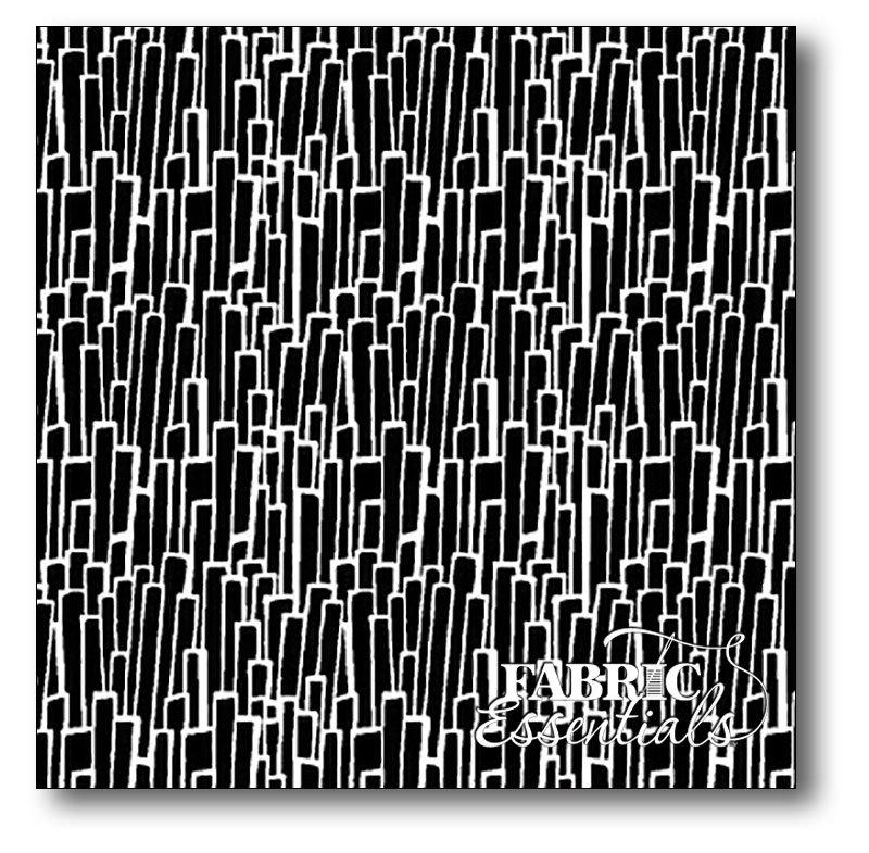 Windham - Imagine - Skyscrapers - 40858-1 White on Black