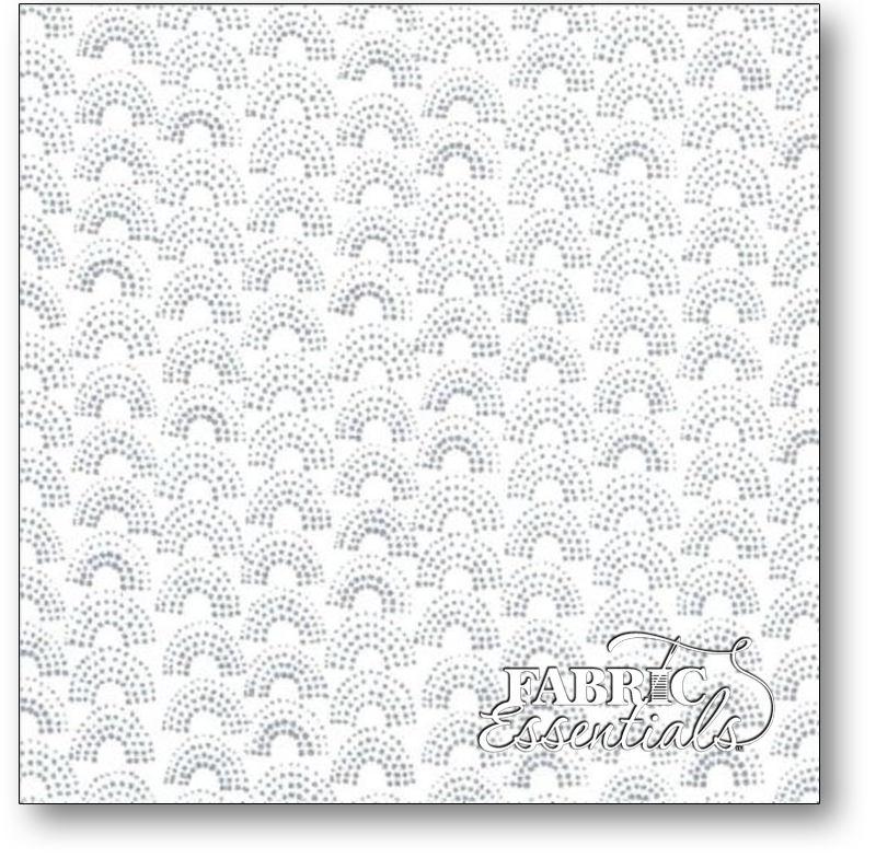 Windham - Lemmikki by Lotta Jansdotter - 43094-6 - Gray on White