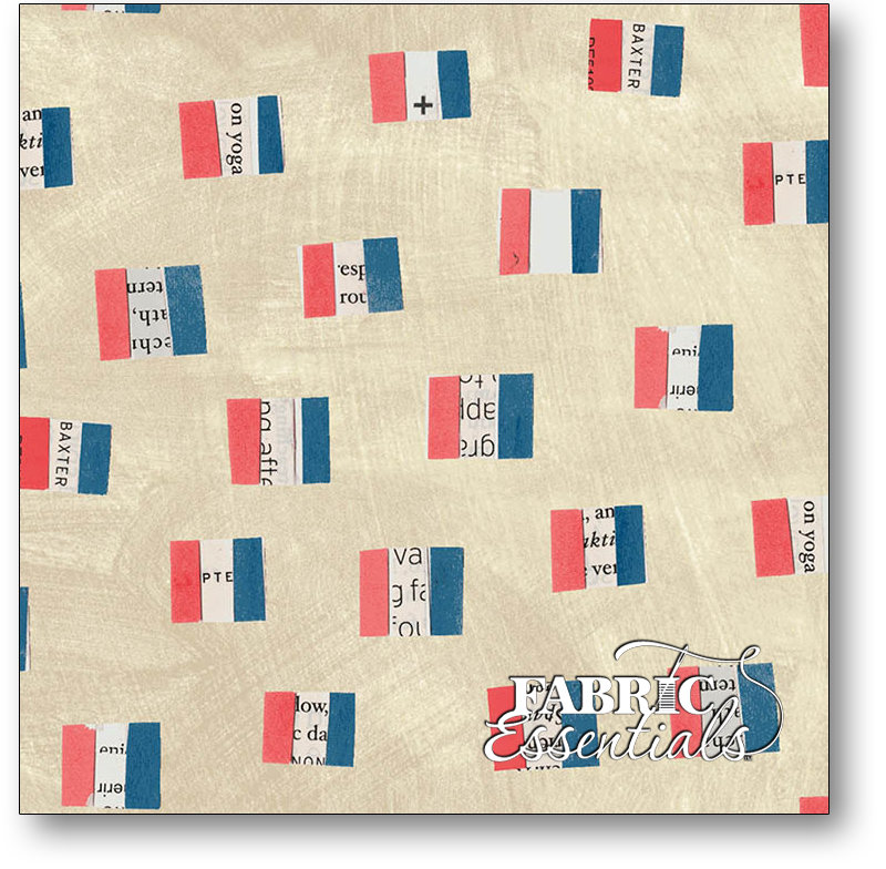 Windham - Wonder - 50518-1- French Flags - Sand