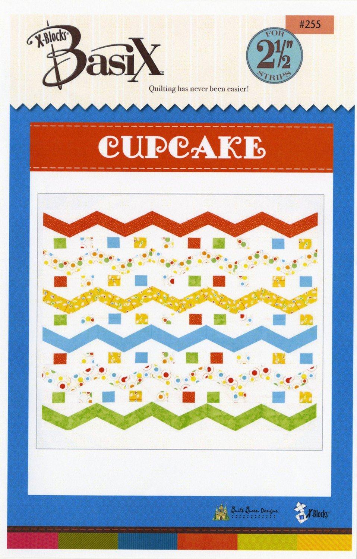 X-Blocks - BasiX Pattern - Cupcake - for 2.5in strips - XB255