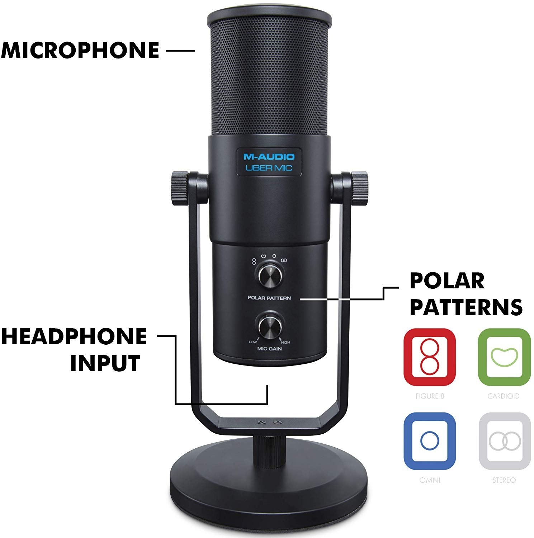 M-Audio UBERMIC USB Microphone