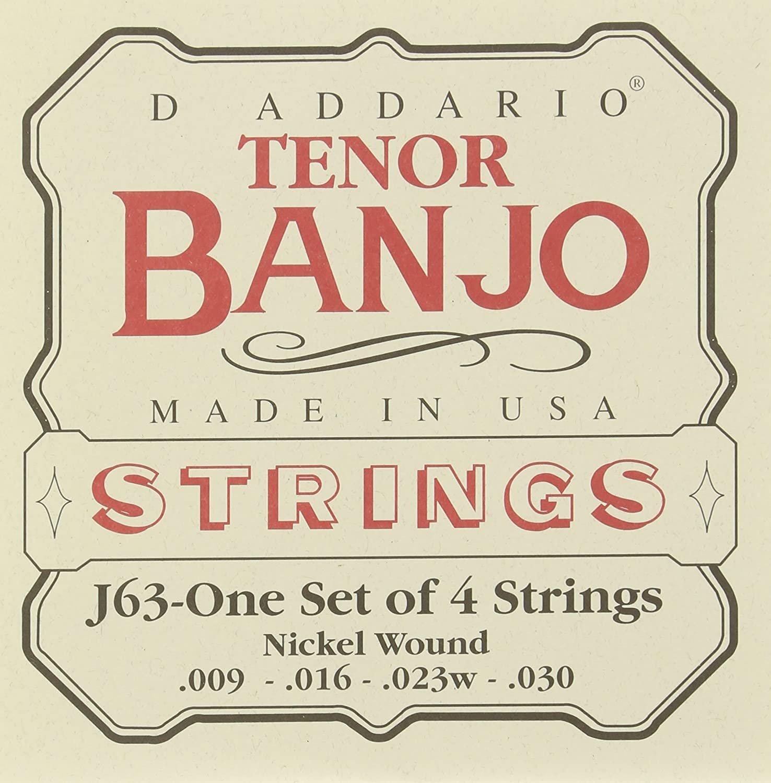 D'Addario Tenor Banjo String Set