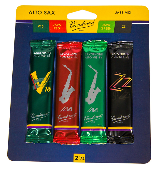 Vandoren Jazz Alto Sax Reed Mix