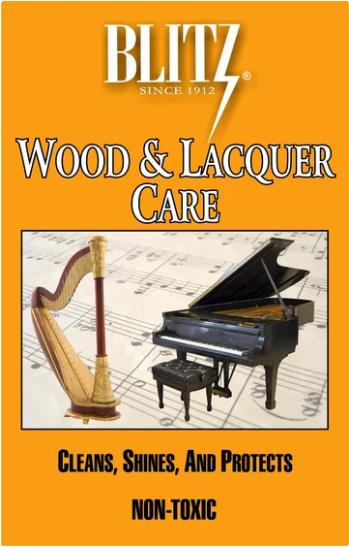 Blitz Wood & Lacquer Care Cloth