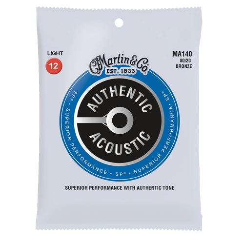 Martin Authentic Acoustic - 80/20 Bronze - Superior Performance