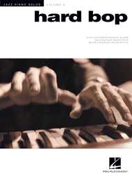 Hard Bop  Jazz Piano Solos Series Volume 6