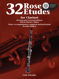 32 Rose Etudes for Clarinet