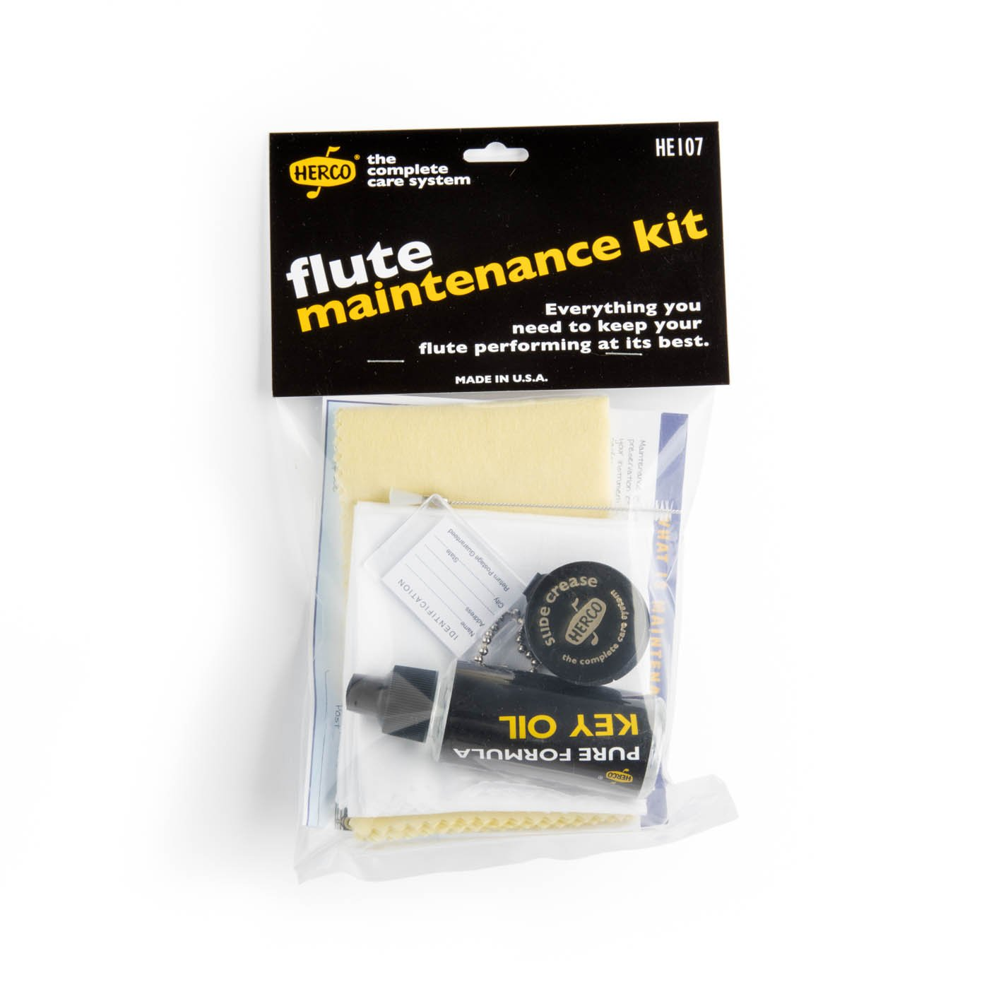 Herco Complete Care Flute Maintenance Kit