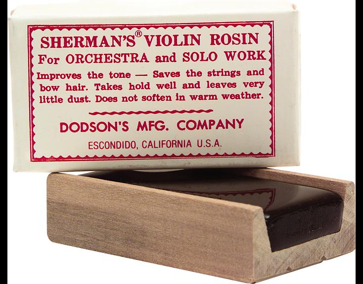 Sherman's Light Violin Rosin