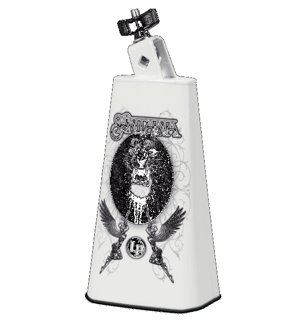 LP Timbale Cowbell Santana Lion Art