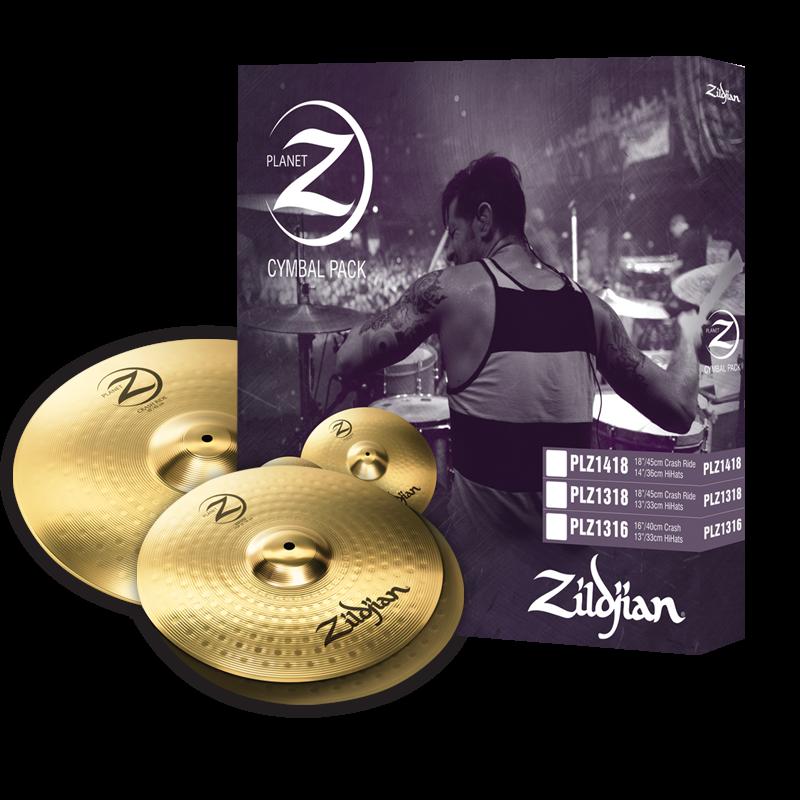 Zildjian Planet Z PLZ1418 Cymbal Set