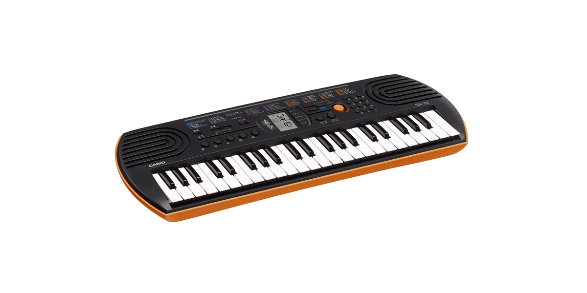 Casio SA76 Mini-Sized Keyboard