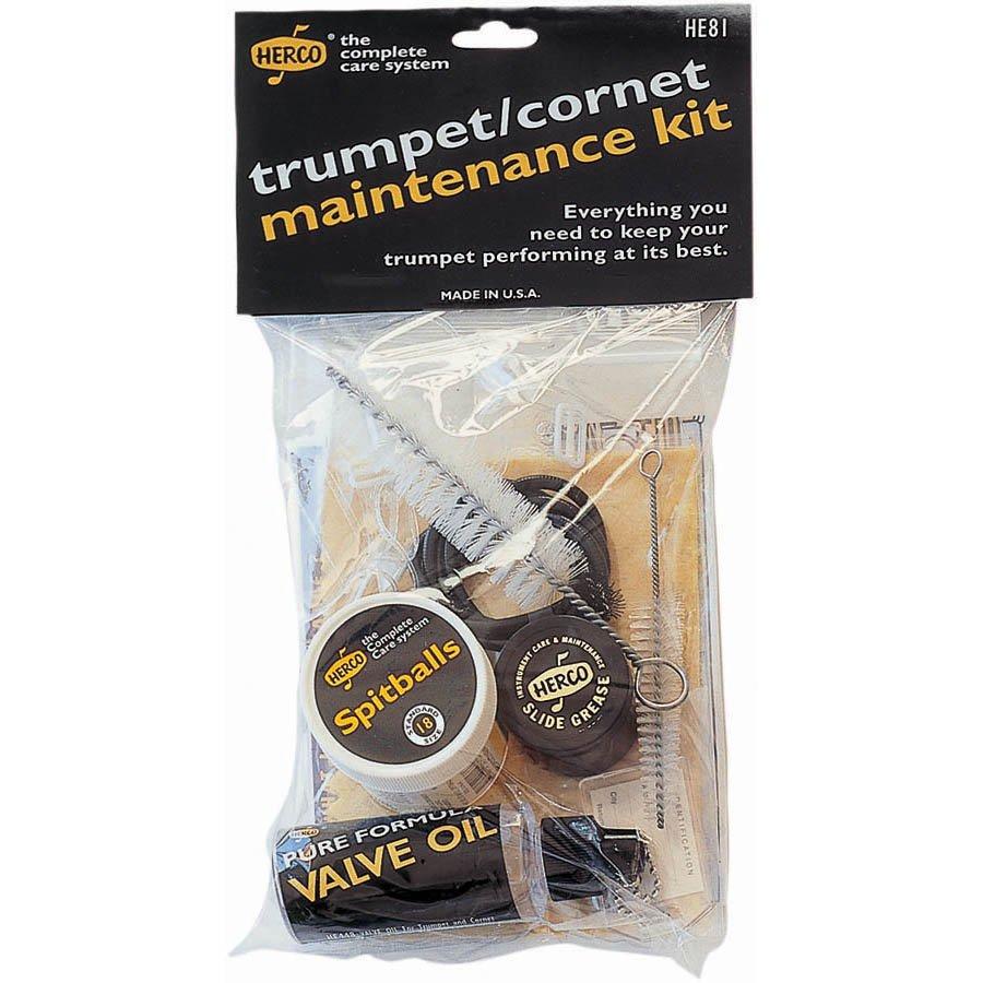 Herco Complete Care Trumpet/Cornet Maintenance Kit