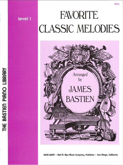Favorite Classic Melodies Level 1