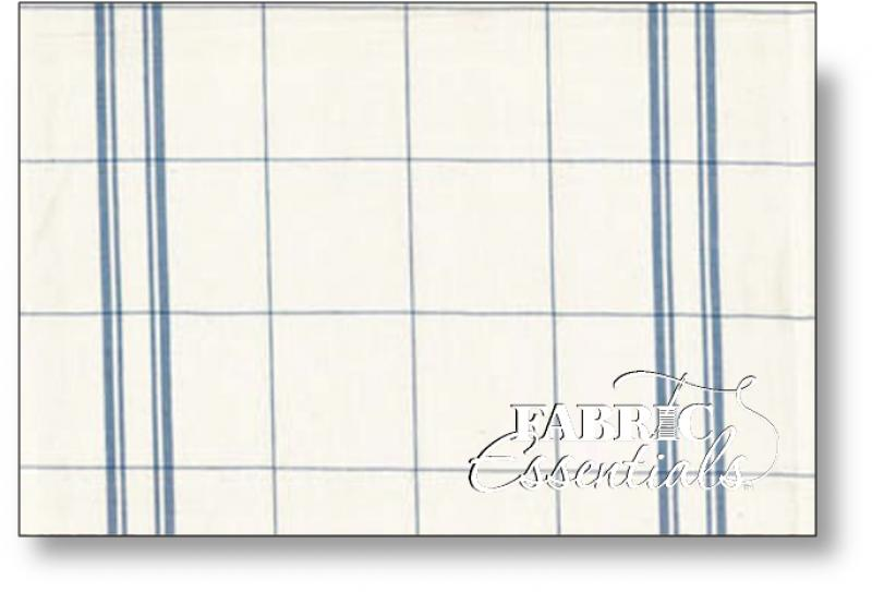 Moda Toweling - 920-114 - Blue Plaid