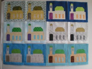 Fabric at Work Mosque Block