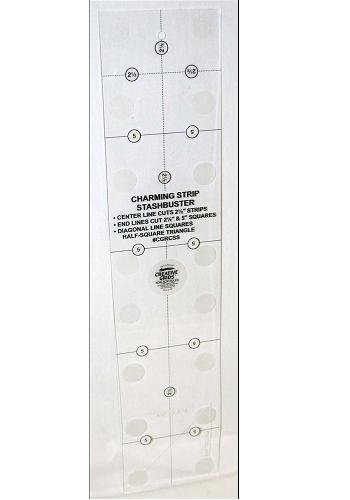 Charming Strip Stashbuster Ruler