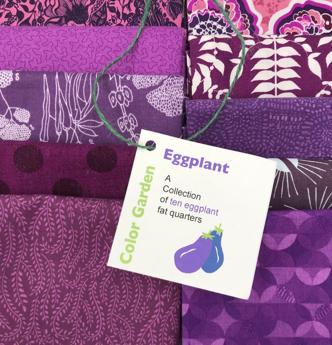Color Garden - Eggplant