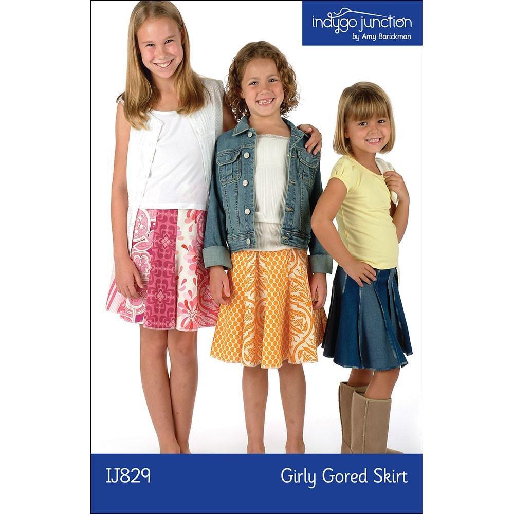 Girly Gored Skirt Pattern