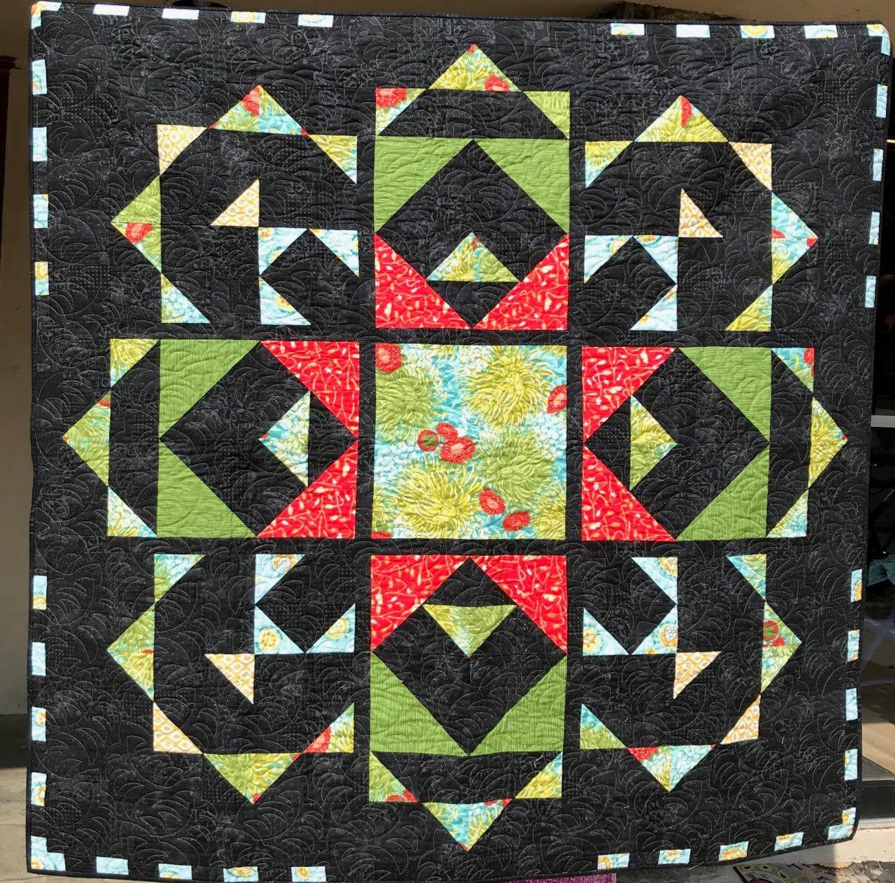 Garden Square Quilt Kit