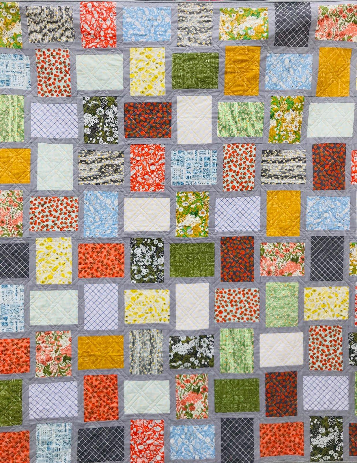 Mazy's Garden Quilt Kit