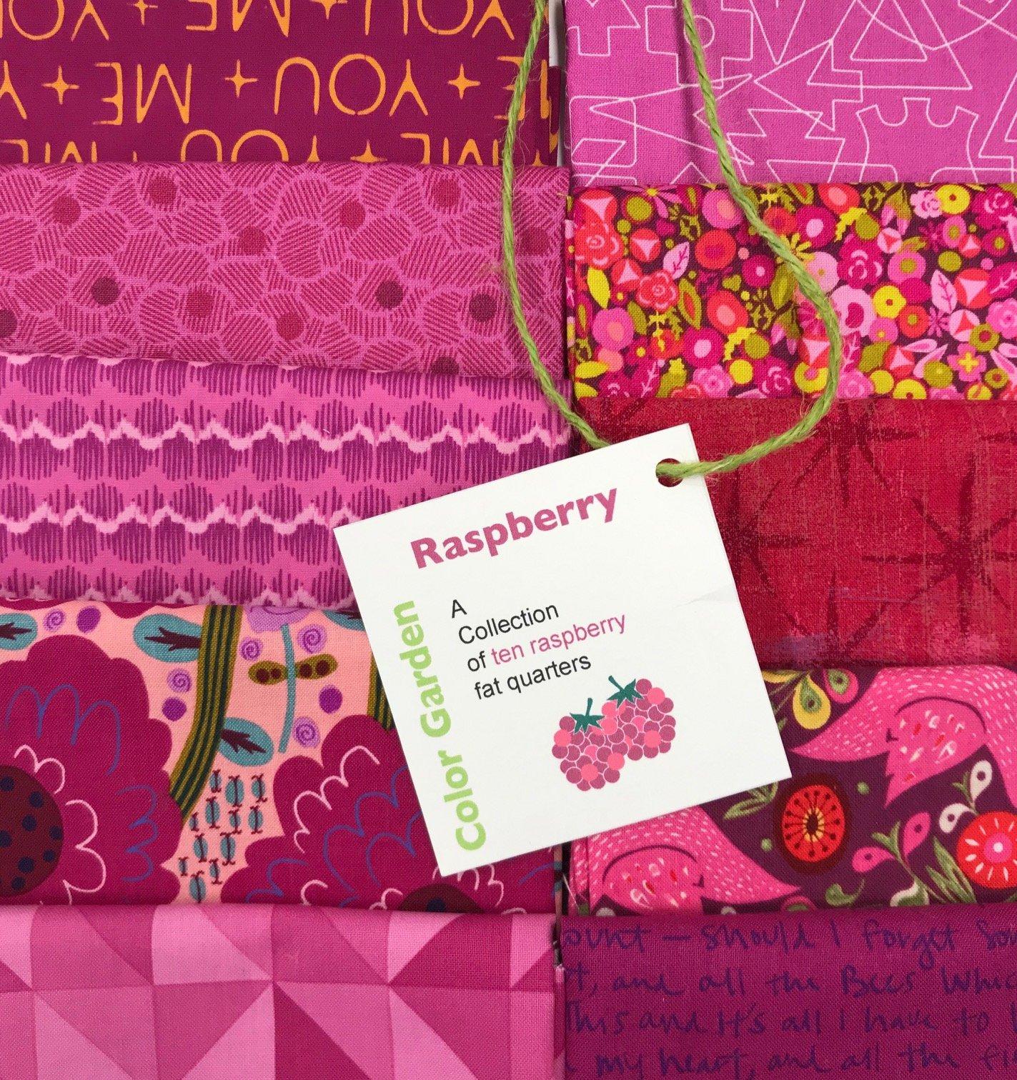 Color Garden - Raspberry